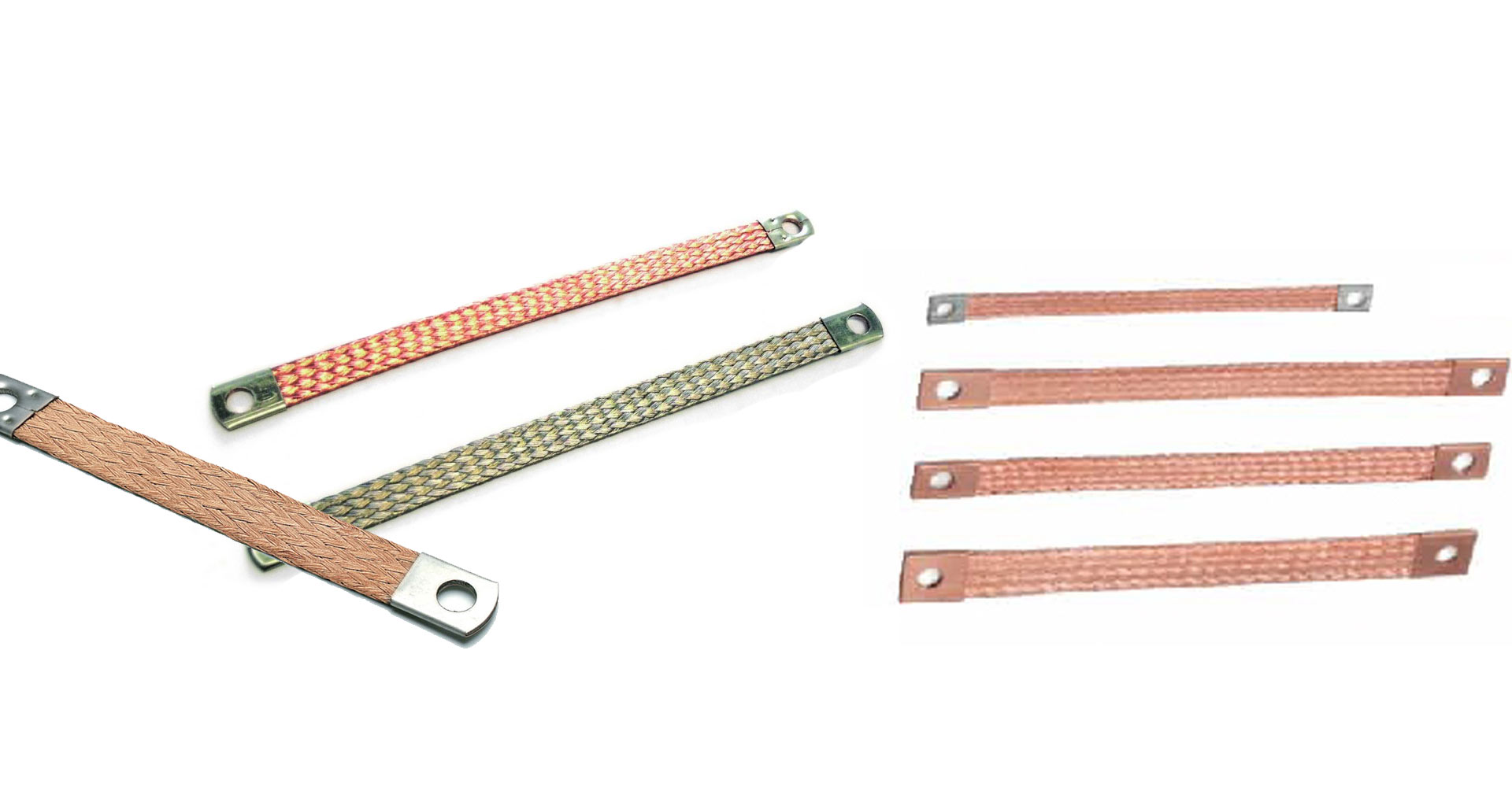 Flexible Electrical Copper Braided Connectors Manufacturer Supplier Exporter